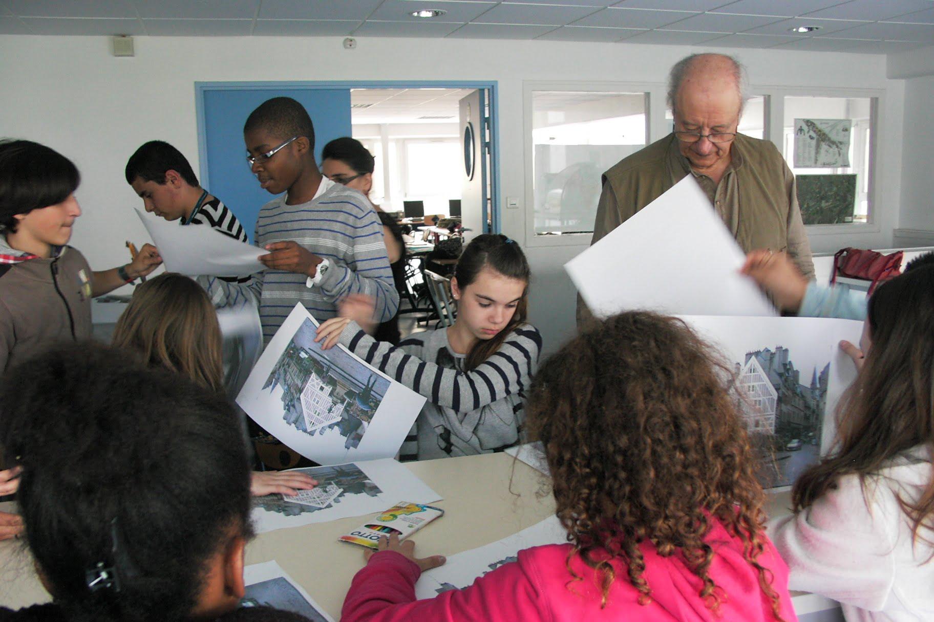 Les architectes et les paysagistes dans les classes for Les paysagistes