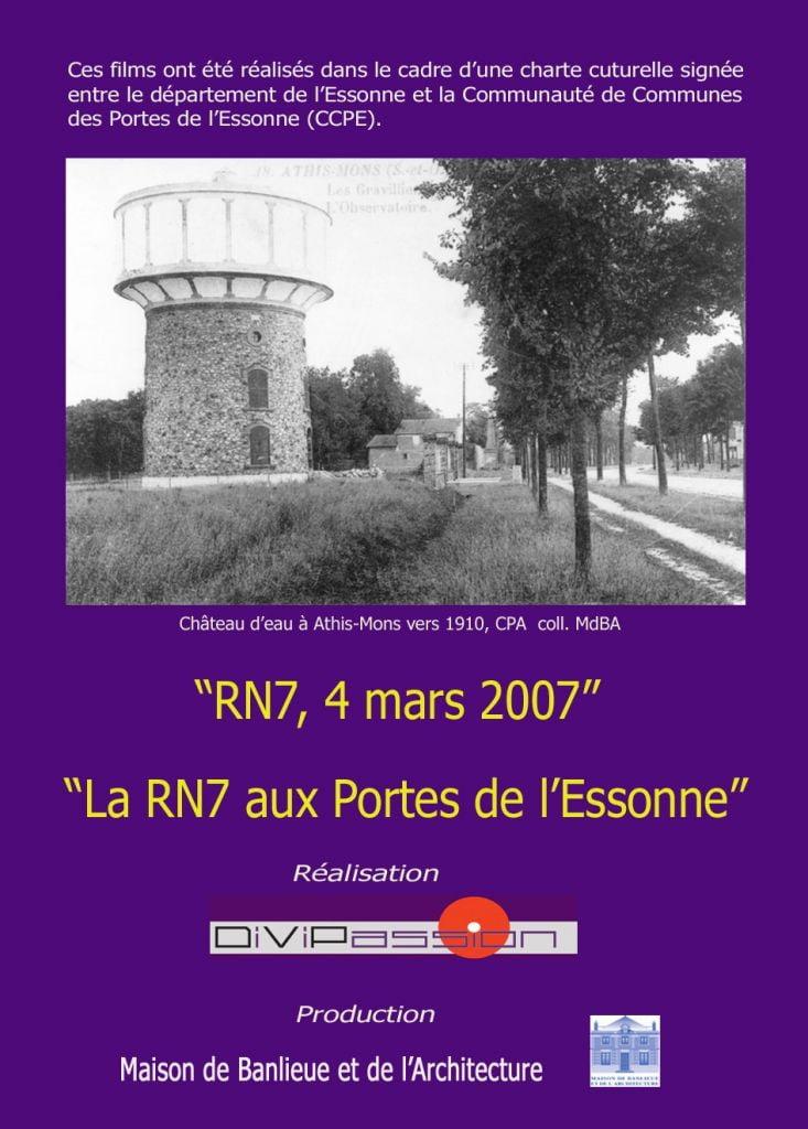 Rn7 4 mars 2007 la rn7 aux portes de l 39 essonne divipassion cineam maison de banlieue et - Piscine porte de l essonne ...