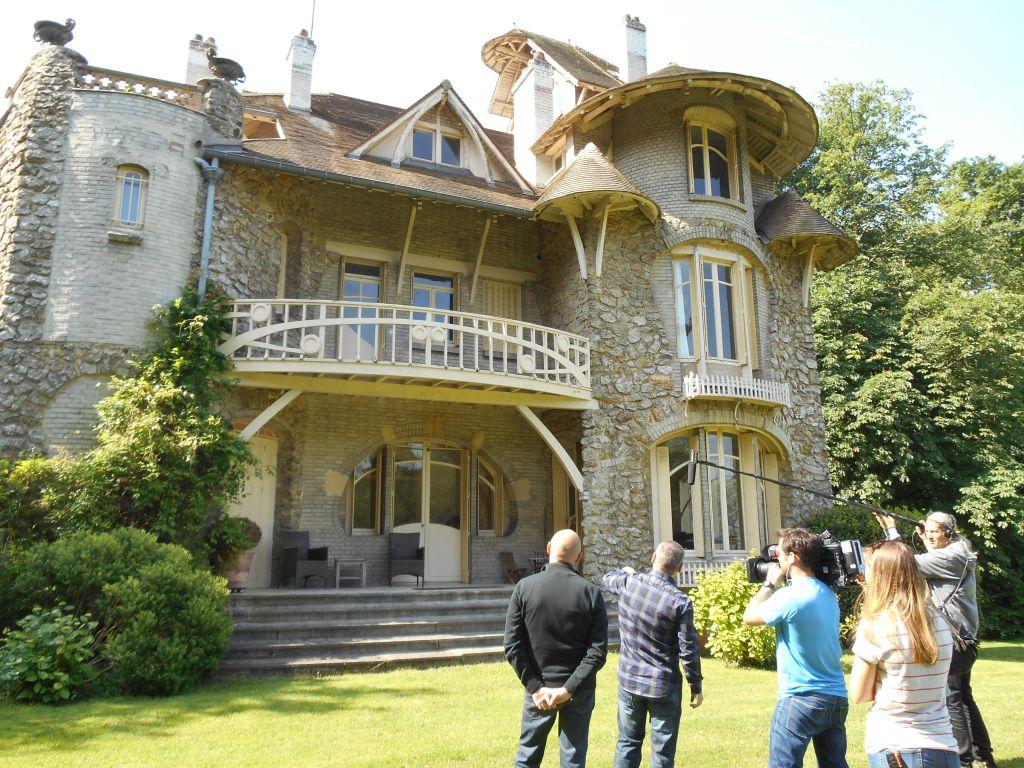 la castel d orgeval villemoisson sur orge 91 une villa art nouveau en meuli re r alis e. Black Bedroom Furniture Sets. Home Design Ideas
